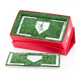 Boston Red Sox Cufflinks and Money Clip Gift Set
