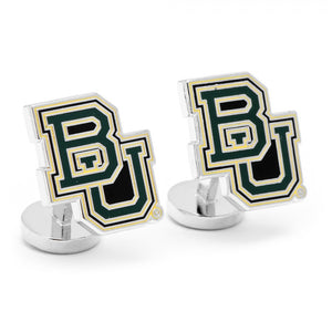 Baylor University Bears Palladium Cufflinks