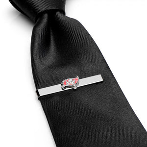 Tampa Bay Buccaneers Cufflinks and Tie Bar Gift Set