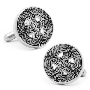 Celtic Cross Stud Set