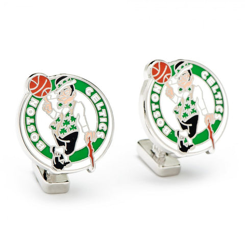 Boston Celtics Palladium Cufflinks