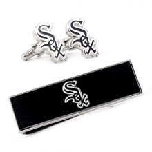 Chicago White Sox Cufflinks and Money Clip Gift Set