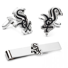 Chicago White Sox Cufflinks and Tie Bar Gift Set