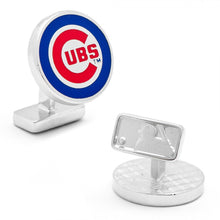 Chicago Cubs Palladium Edition Cufflinks