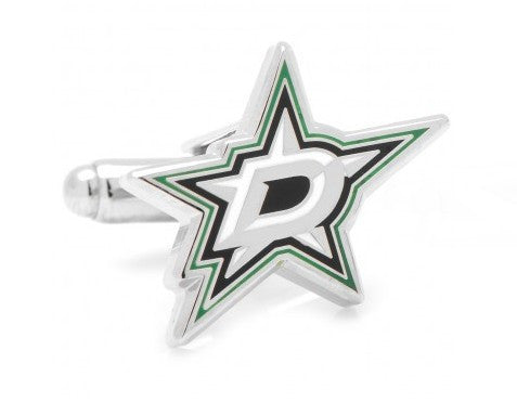 "3/4"" Diameter Dallas Stars Cufflinks"