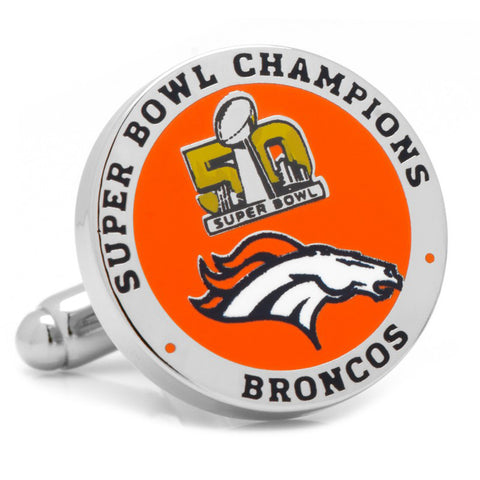 Denver Broncos Retro Helmet Cufflinks