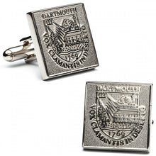 Dartmouth College Silver Edition Cufflinks