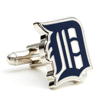Detroit Tigers Cufflinks and Money Clip Gift Set