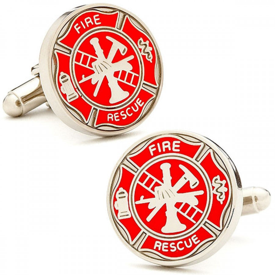 Firemens Shield Cufflinks