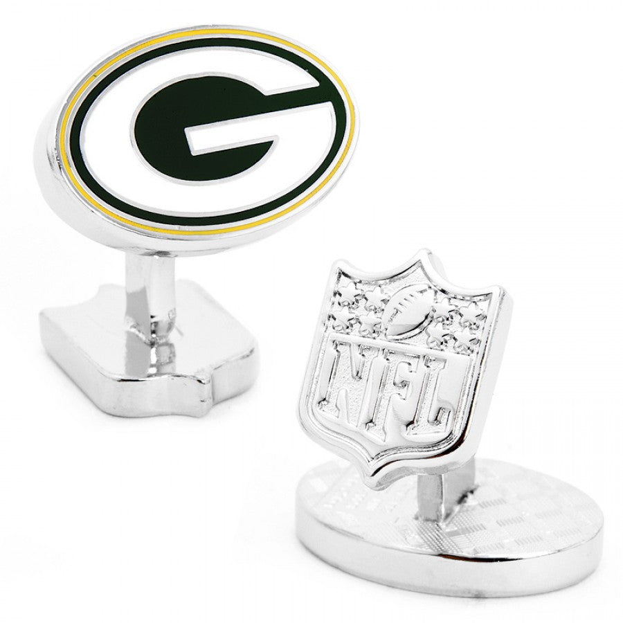 Green Bay Packers Palladium Cufflinks