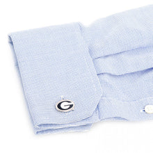 University of Georgia Bulldogs Palladium Cufflinks
