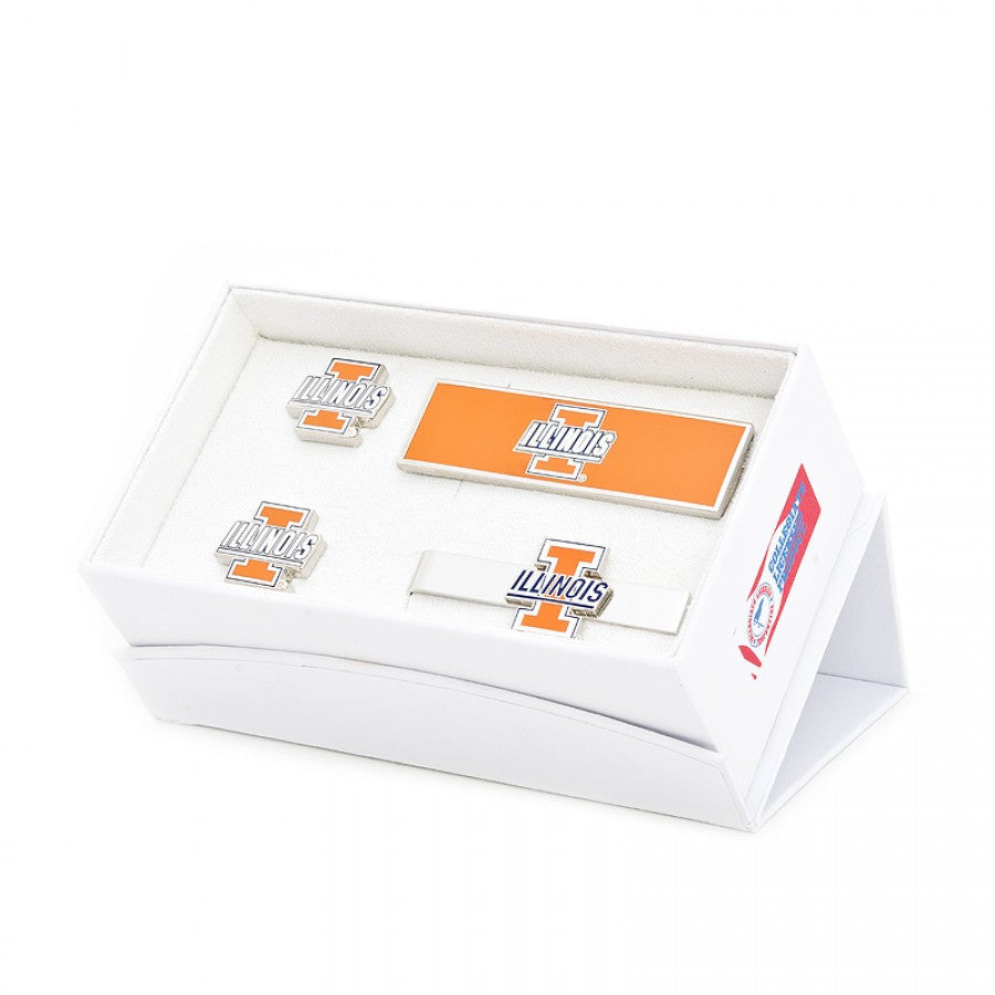 University of Illinois Fighting Illini 3-Piece Gift Set