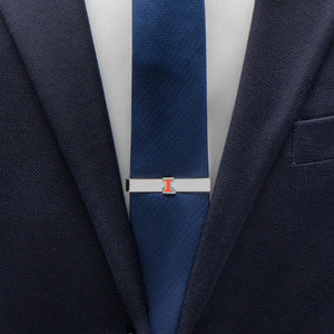 "University of Illinois Fighting Illini  ""I"" Logo Tie Bar"
