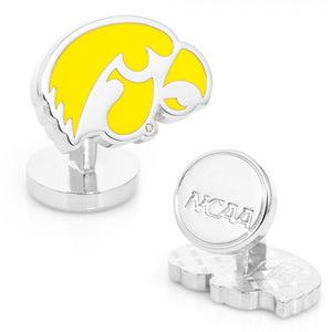 University of Iowa Hawkeyes Palladium Cufflinks
