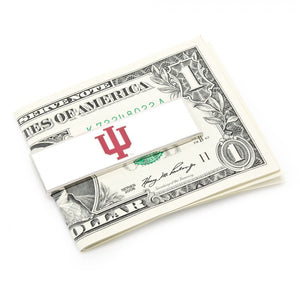 Indiana University Hoosiers Cufflink and Money Clip Gift Set