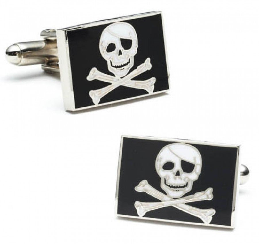 Jolly Rodger Flag Cufflinks