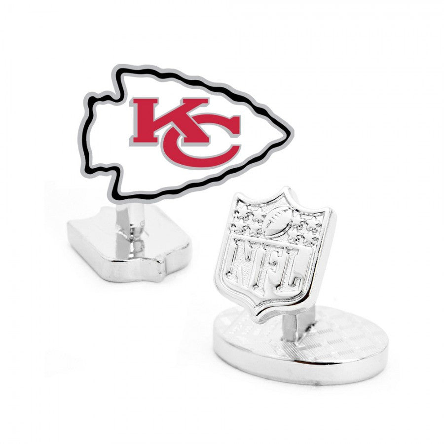 Kansas City Chiefs Palladium Cufflinks