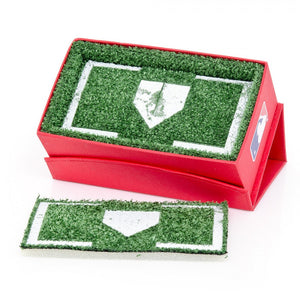 Los Angeles Angels Cufflinks and Money Clip Gift Set