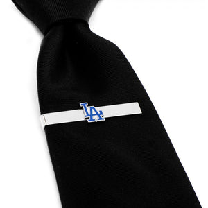 Los Angeles Dodgers Cufflinks and Tie Bar Gift Set