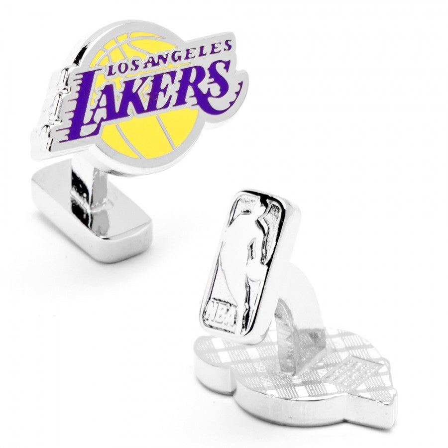 Los Angeles Lakers Palladium Cufflinks