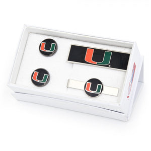 University of Miami Hurricanes 3-Piece Gift Set