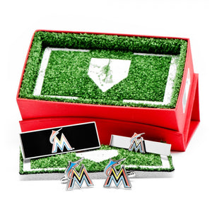 Miami Marlins 3-Piece Gift Set