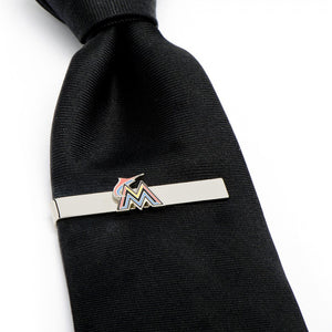 Miami Marlins Tie Bar