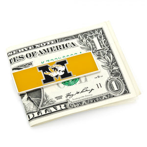 University of Missouri Cufflinks and Money Clip Gift Set