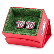 Washington Nationals Palladium Edition Cufflinks