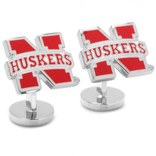 University of Nebraska Cornhuskers Palladium Cufflinks