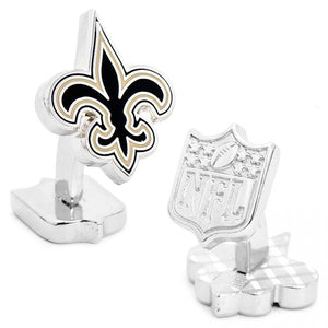 New Orleans Saints Palladium Cufflinks