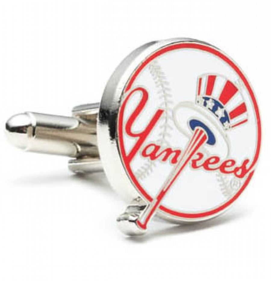New York Yankees Baseball Cufflinks