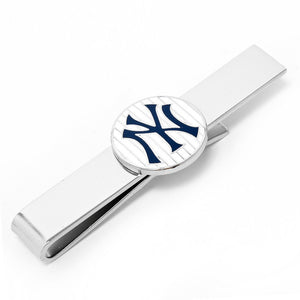 Yankees Pinstripe Cufflink and Tie Bar Gift Set
