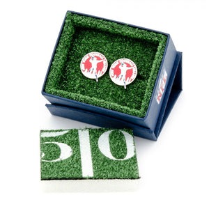 New York Giants Vintage Football Logo Cufflinks