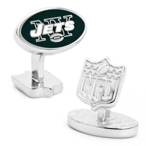 New York Jets Palladium Cufflinks