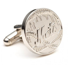 New York Mets Two Tone Plated Cufflinks