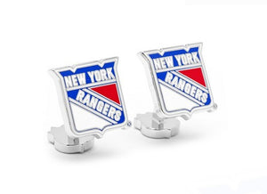 New York Rangers Palladium Cufflinks