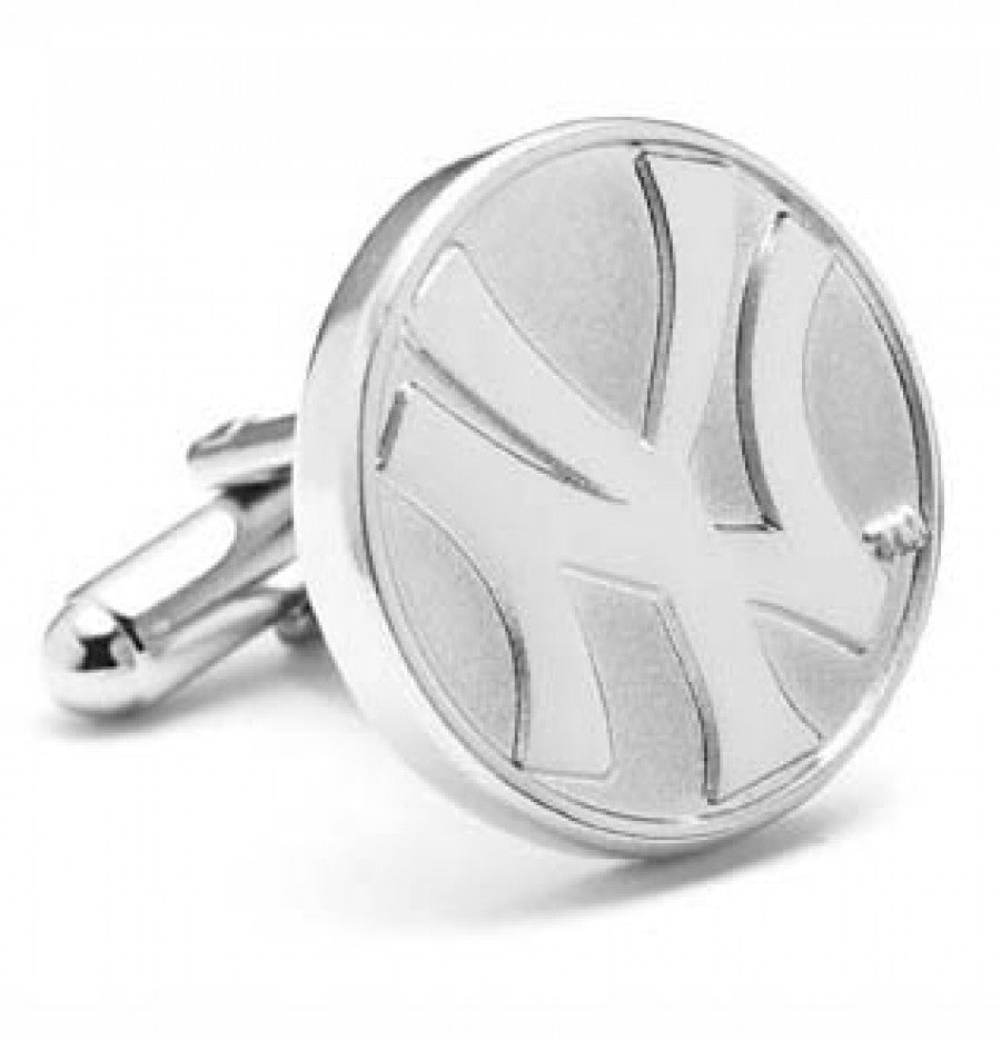 New York Yankees Silver Edition Cufflinks