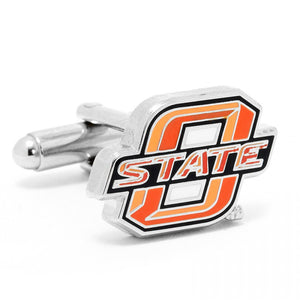 Oklahoma State Cowboys Cufflinks and Tie Bar Gift Set