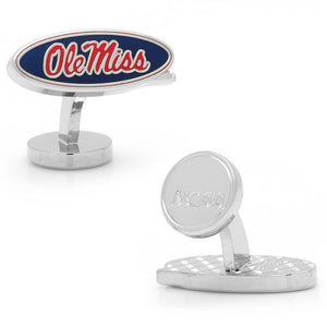 Ole Miss Rebels Palladium Cufflinks