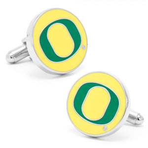 University of Oregon Ducks Cufflinks and Money Clip Gift Set