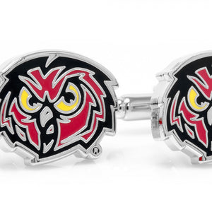 Temple University Owls Cufflinks