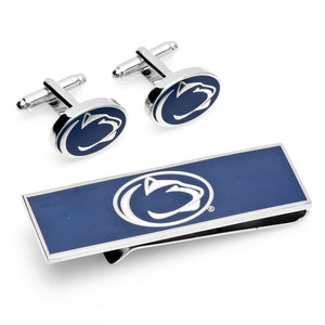 Penn State Nittany Lions Cufflink and Money Clip Gift Set