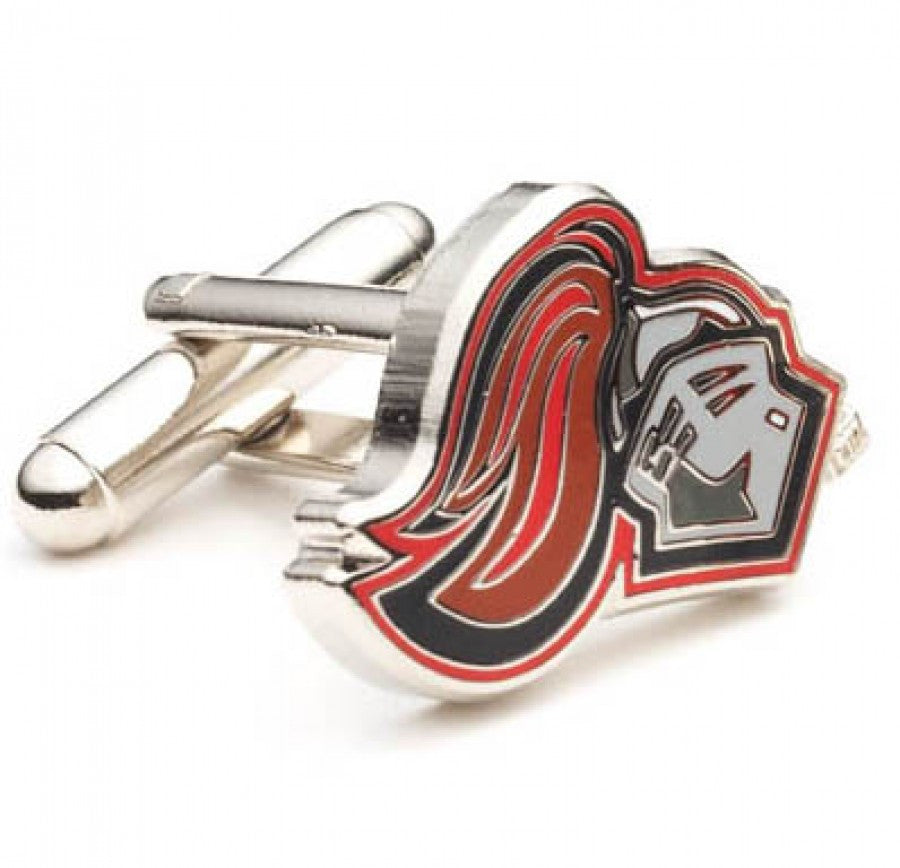 University of Rutgers Scarlet Knight Cufflinks