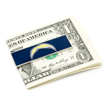 San Diego Chargers Cufflinks and Money Clip Gift Set