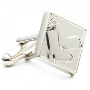 Silver Edition Red Sox Cufflinks