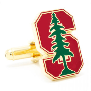 Stanford University Cufflinks and Tie Bar Gift Set