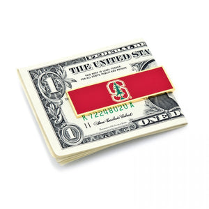 Stanford University Trees Money Clip