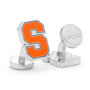 Syracuse University Orangemen Palladium Cufflinks