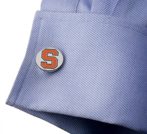 Syracuse University Orangemen Cufflinks